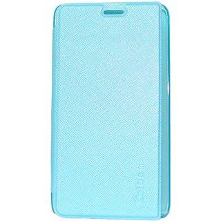 Snaptic Caidea Blue Flip Cover for Lenovo A6000 Plus
