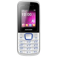 ADCOM Freedom X6 Dual SIM Mobile Phone- White And Blue