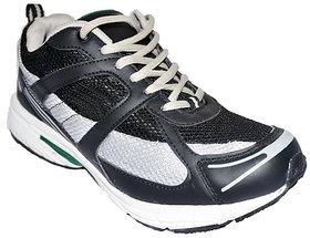 Liberty Black Running Sport Shoes