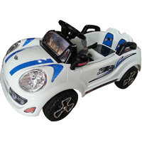 Kids battery operated ride on koolz car with r/c
