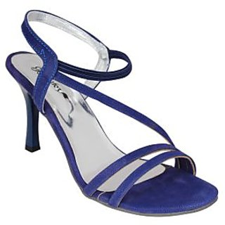 Bellafoz Blue  heeled sandals