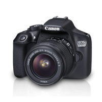 Canon EOS 1300D Kit (EF S18-55 IS II Lens) With 16 GB Card, Carry Case  2 Years Canon India Warranty