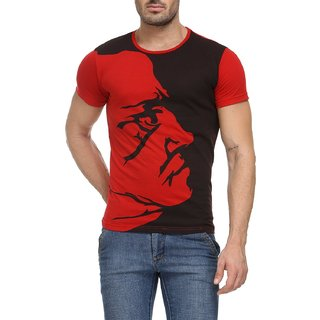 Teesort Mens Cotton Graphic T-Shirt