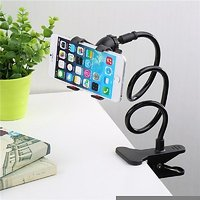 Stylesh Universal Long Lazy Bed Desktop Car Stand Mount Holder For Cell Phone
