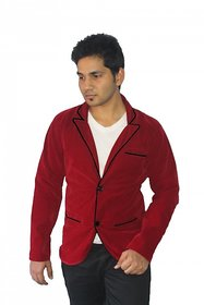Trustedsnap Red Blazer for Means