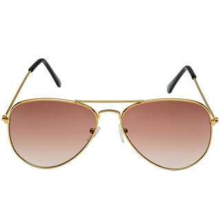 0cfd8c7d3e Buy Rico Sordi Golden Black Uv Protection Mens Aviator Sunglass Online -  Get 3% Off
