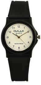 Omax Analog White Dial Kids Fiber Watch-FS102