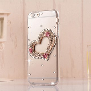 6 Plus Heart Back Cover For Girls