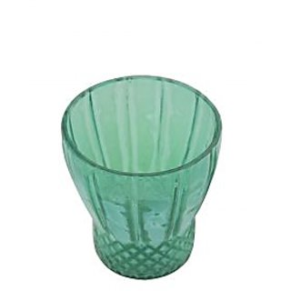 AnasaDecor LIGHT GREEN CARVING Votive Tealight Candle Holder
