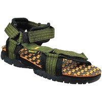 Sparx-202 Olive Green Floater Sandals For Men