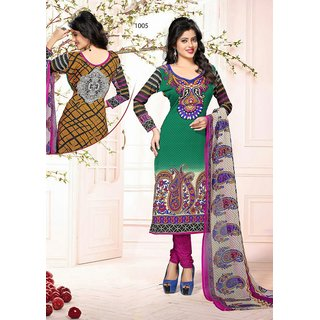Diya collection ladies suits dress material