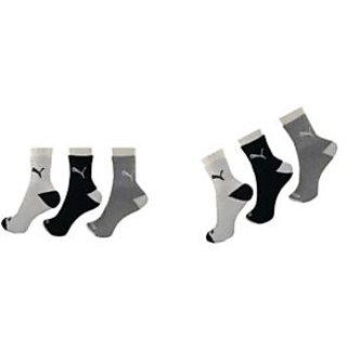 BRANDED LOGO COTTON ANKLE SOCKS ( 6 PAIR PACK )