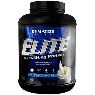 Dymatize Elite Whey Protein 5 Lb Gourmet Vanilla