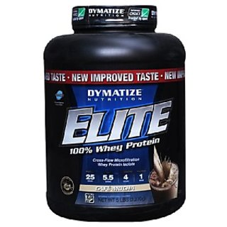Dymatize Elite Whey Protein 5 Lb Cafe Mocha