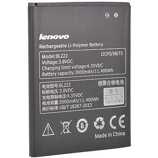 Buy Original Lenovo Bl222 Battery For Lenovo S660 S668t With 3000mah