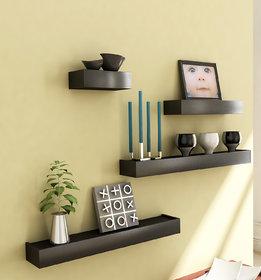 Home Sparkle Shelves Set Of 4 (Sh332)