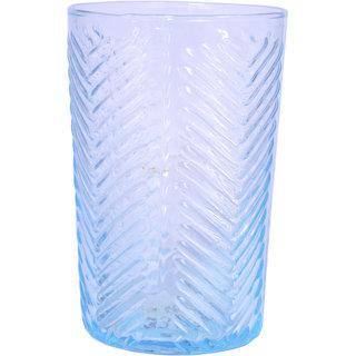 AnasaDecor Bronze Mercury Glass Blue Votive Tealight Candle Holder