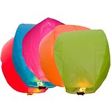 India Sky Lanterns - Pack Of 10