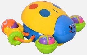 Planet of Toys Multifunction Musical Moving Puzzle Ladybug