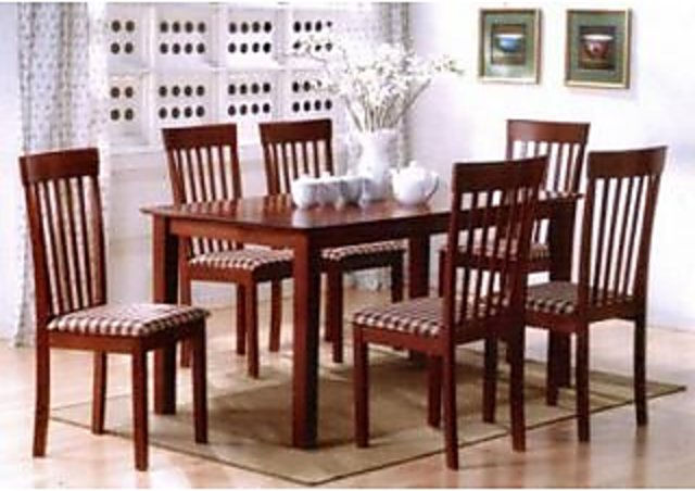 Shopclues & universal 6 Seater Dining Table Sets Brown