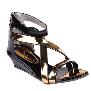 Trilokani Girls Sandals TFC66BLACK