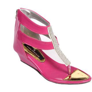 Trilokani Girls Sandals TFC68PINK