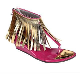 Trilokani Girls Sandals TFC70PINK