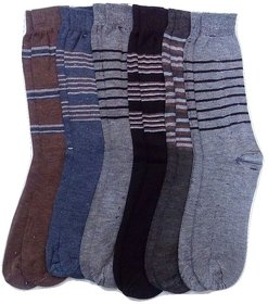 FABLOOK brand  audi cotton socks pack of 12 pairs,multi colour socks