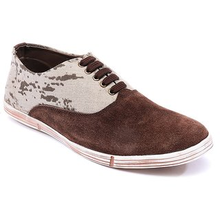 Spunk Men Brown Casual Shoes