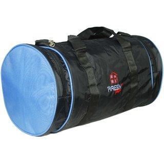 d31d79b522 Raeen Plus Round Light Blue Gym Cum Travel Bag