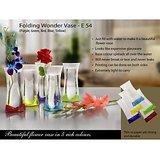 Flower Vase Folding Wonder Vase Set Of 4 Different Colours