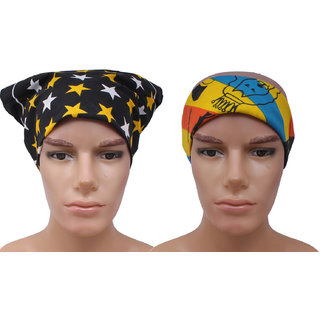 Sushito Set Of Two Multi Functional Headwrap JSMFHHR0230-FHHR0231
