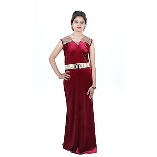 Party Gown For Womens (Red)