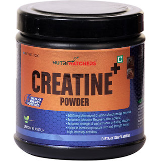 NUTRIWATCHERS CREATINE+ - Instant Energy Provider