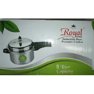 Royal King Induction Base Pressure Cooker - 5 Ltr Capacity