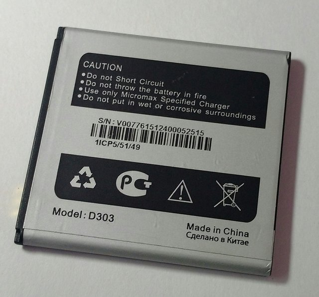 ORIGINAL D303 BATTERY For Micromax Bolt D303