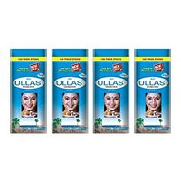 ULLAS MAX Incense Sticks 100 Zipper Pouch (pack Of 4 10