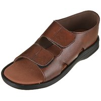 Brown Comfy Sandals For Man,s