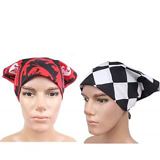 Sushito Set Of Two Multi Functional Headwrap JSMFHHR0196-FHHR0215