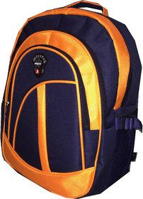 Apnav Blue-Orange School Bag