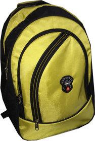 Apnav Black-Yellow School Bag