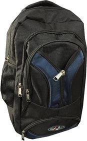 Apnav Black-Blue Lightweight School Bag