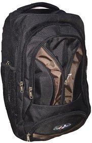 Apnav Black-Brown Lightweight School Bag