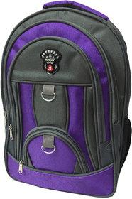 Apnav Grey-Purple School Bag/Backpack