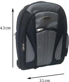 Apnav Black School Bag