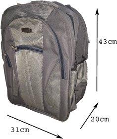 Apnav Gray School Bag