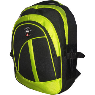 Apnav Black-Green School Bag
