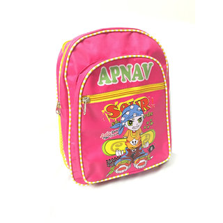 Apnav Pink Kids School Bag