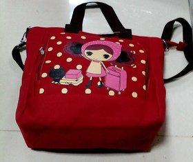 Polka Dot Red Hand Bag