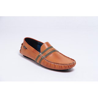 Galaxy Men's Tan Loafers